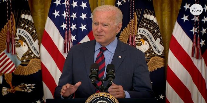 'I think he should resign': Biden addresses sexual misconduct findings regarding Gov. Cuomo