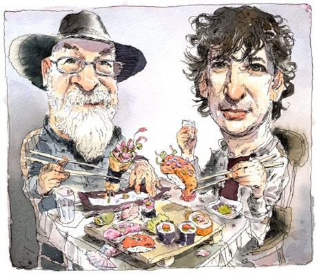 Neil Gaiman: 'Terry Pratchett isn't jolly. He's angry'