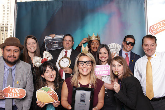 Photos: S.A. employees strike a pose in photo booth at 2017 Top Workplaces luncheon