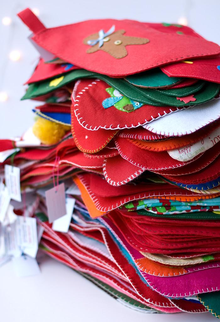 Christmas stockings for all the children