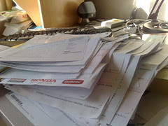 4 months of paperwork to sort