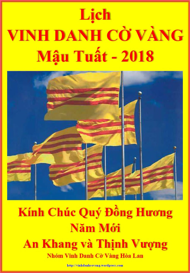 Image result for Lịch Vinh danh cờ vàng 2018