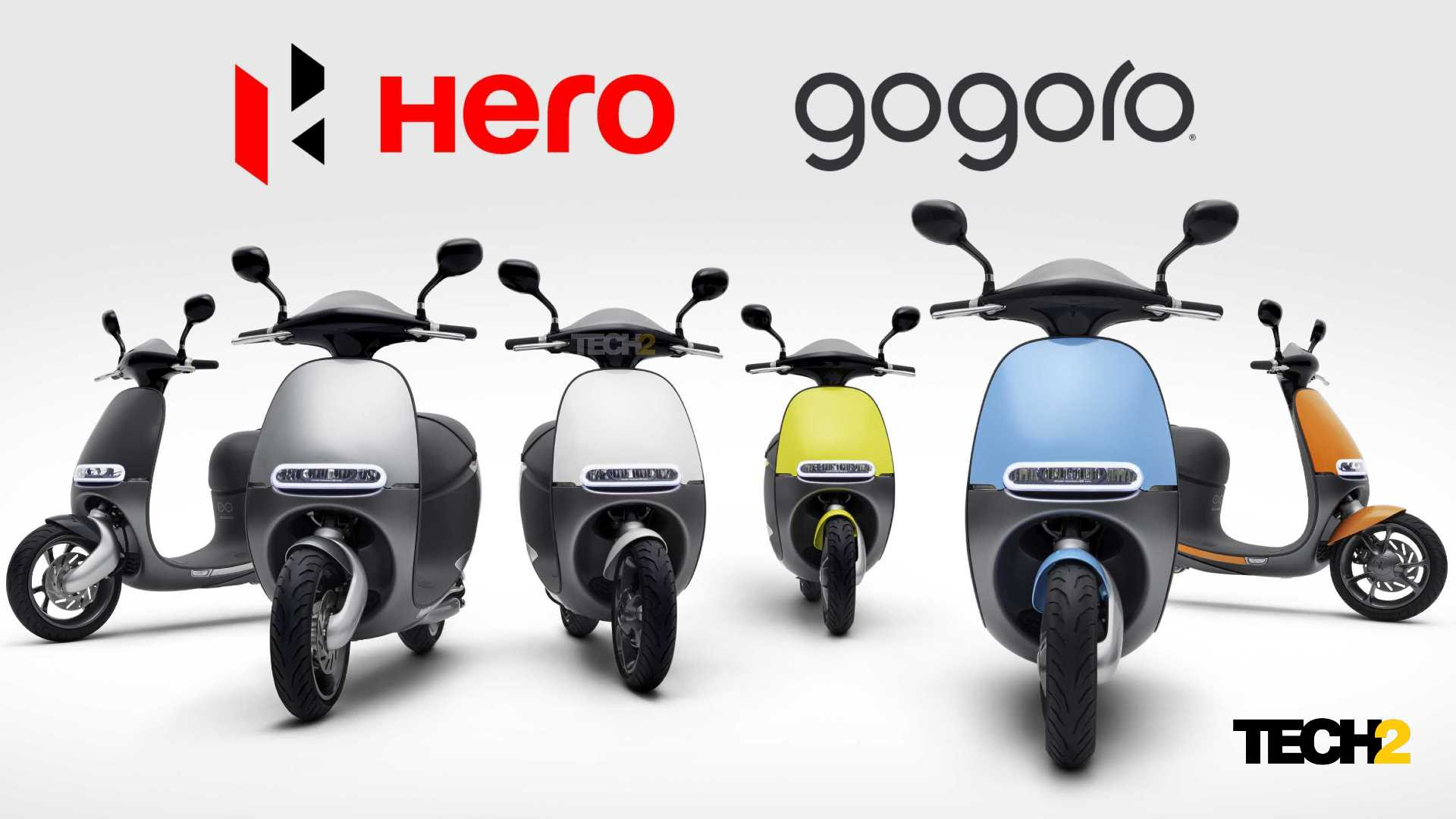Soon, Hero MotoCorp will launch its own electric two-wheelers based on existing Gogoro models. Image: Gogoro/Tech2