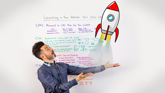 Launching a New Website: Your SEO Checklist - Whiteboard Friday