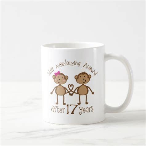 17th Wedding Anniversary Gifts Mugs   Zazzle