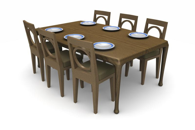 Table Size For Eight To 10 People