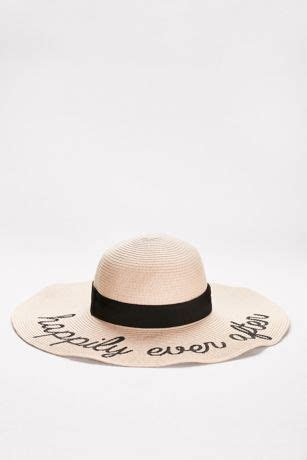 Happily Ever After Sun Hat   David's Bridal