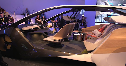 BMW's futuristic new concept car interior uses holograms