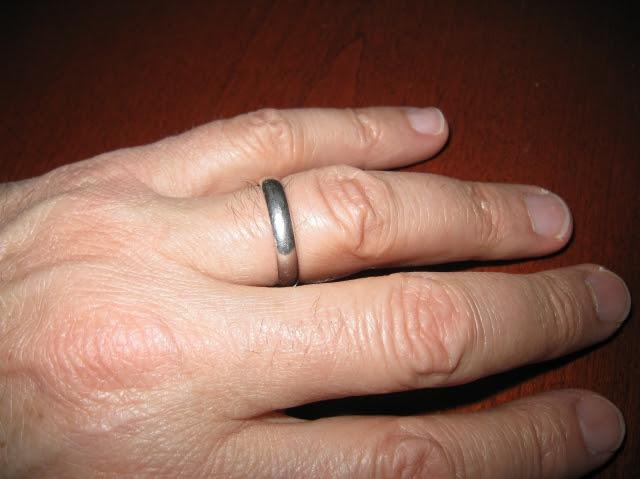 Mens wedding rings 3mm