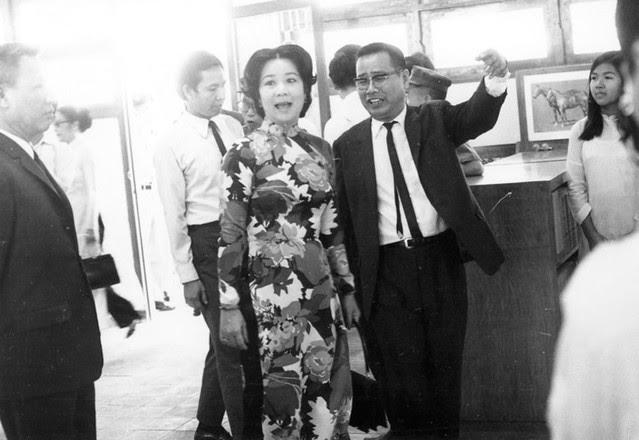 Lễ khánh thành Thư viện trường QG Nghĩa Tử (17/3/1971)