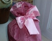 Reusable Fabric Gift Bag - Travel Lingerie Bag - Eco Friendly - Fully Lined