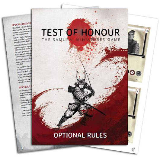 Test of Honour: Optional Rules • Warlord Games