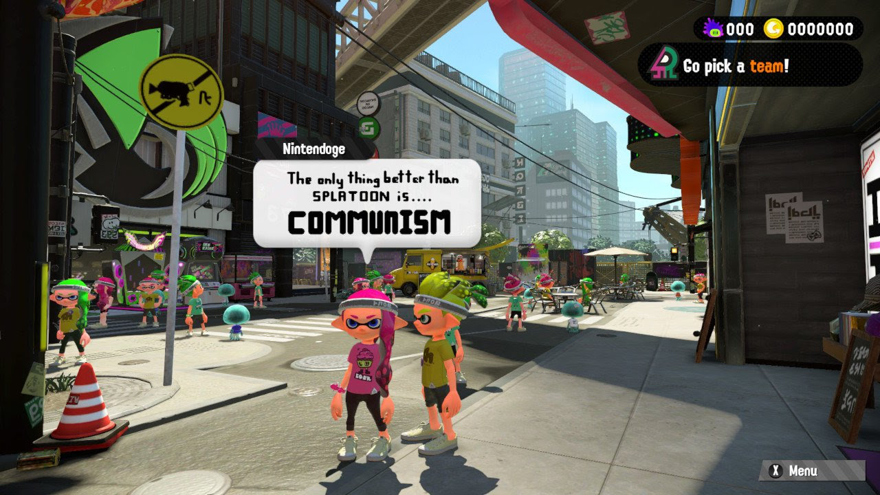 The only thing better than Splatoon 2 screenshot