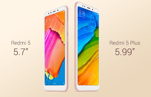 Xiaomi Redmi 5 Plus + Redmi 5