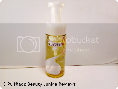 Dove Lathering Oil Makeup Remover