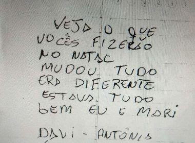 Homem que matou ex-mulher no Detran tinha bilhete acusador: 'Veja o que vocês fizeram'