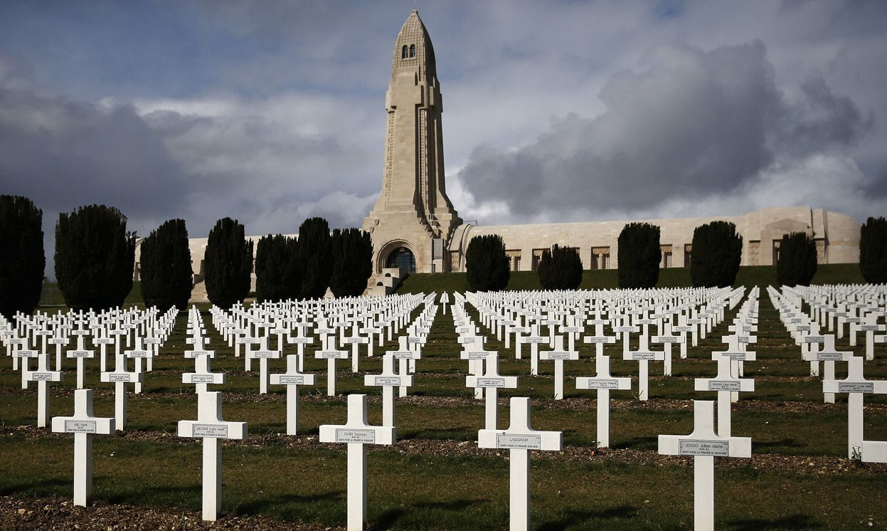 Resultado de imagen de cementerio en verdun