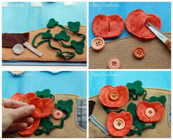 Fall Felt Playmat & Smiles with my Kids //Nap Time Creations
