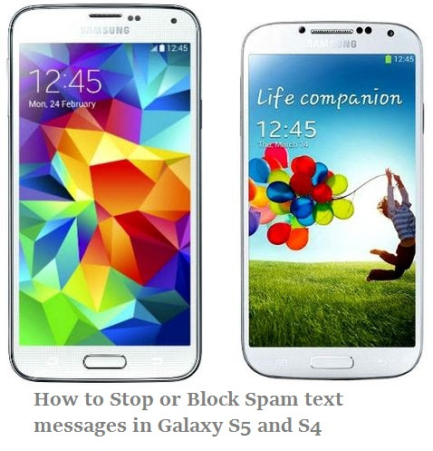 How to block Unwanted or Spam text messages in galaxy S4 ...
