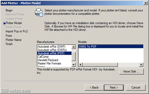 DWG to PDF plotter autocad troubleshoot