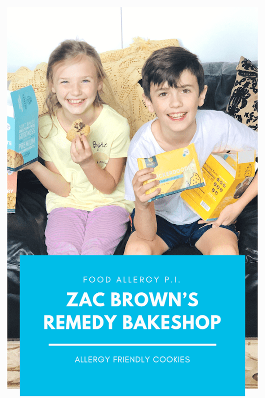 Zac Brown's Remedy Bakeshop | Allergy Friendly Cookies - Food Allergy P.I.