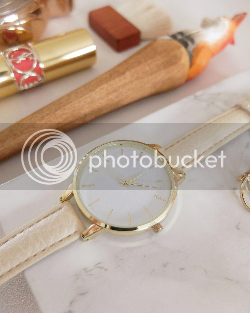 modestmixblog Asos silver mesh watch