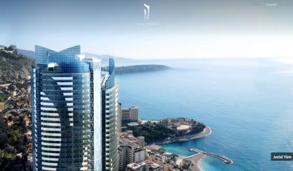 Monaco Penthouse- tower summit with medditerranean views