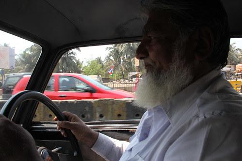 Khansaab Bandra Reclamation Taxi Driver - My Good Friend by firoze shakir photographerno1