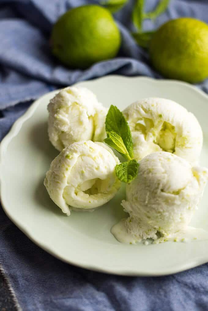 Tangy Lime Ice Cream | Give Recipe