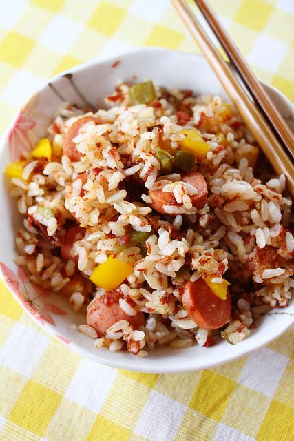 Corned Beef Jalapeno Fried Rice