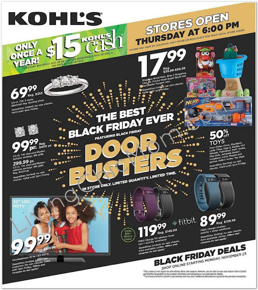 Kohl's Black Friday Ad is Available NOW! - Living Chic Mom