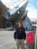 outside the Royal Ontario Museum