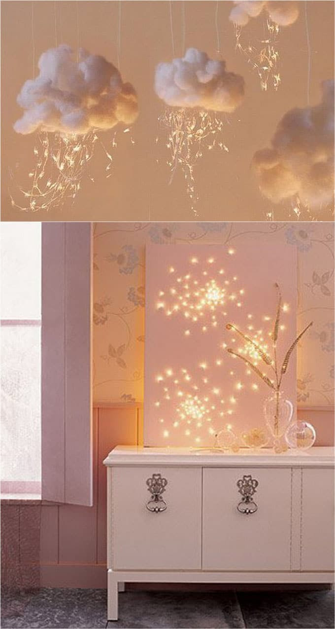 18 Magical String Lights Decorating Ideas - A Piece Of Rainbow
