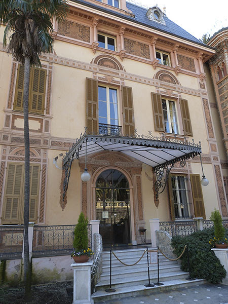 entrée de la Villa Nobel