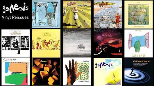 Genesis to reissue 14 albums on heavyweight vinyl - The Prog Report