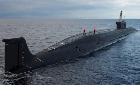 Borey Class Russian Submarine