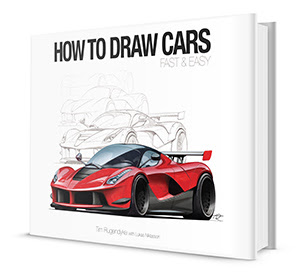 How To Draw Cars Fast and Easy cover
