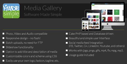 MadeSimple Photo/Video Gallery