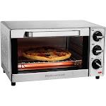 Hamilton Beach 4 Slice Toaster Oven - Black/Silver