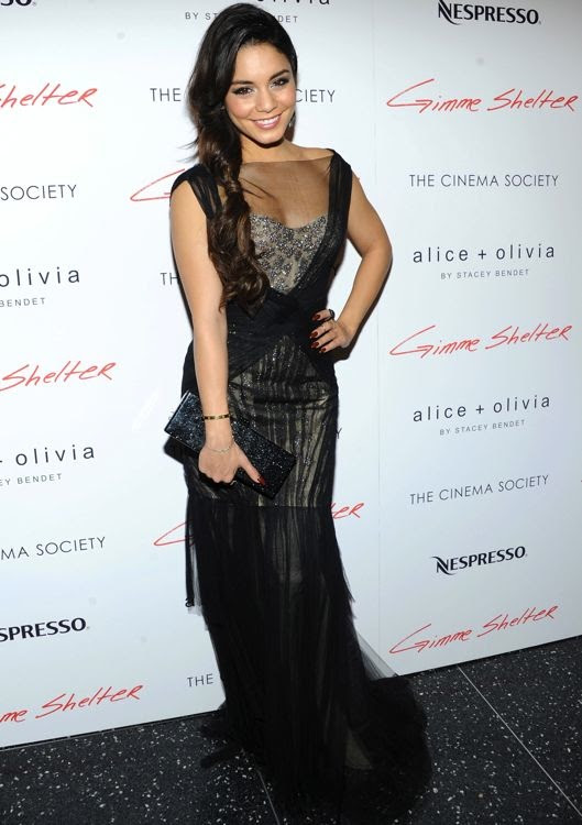 Vanessa Hudgens at the New York Premiere of Gimme Shelter