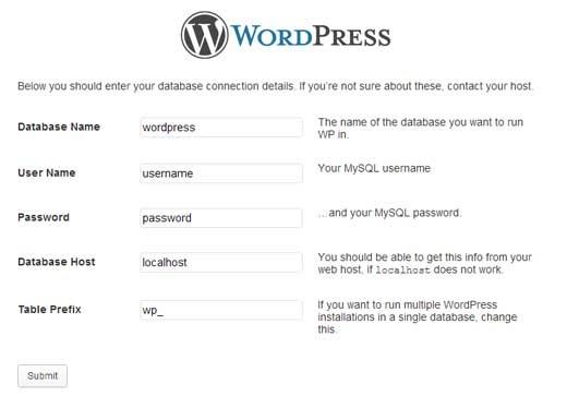 WordPress Setup Part 2