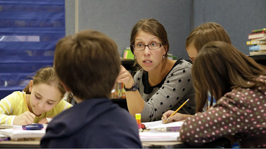 Stanford research shows that students do better on tests when teachers face their math demons