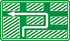 Placa de Orientacao de Destino - Placa diagramada 05