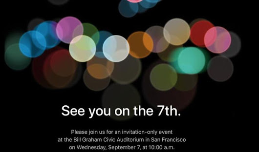 Live Blog Updates – Apple iPhone 7 launch Event live Streaming Date Timings Country Wise Full List & Where to Watch