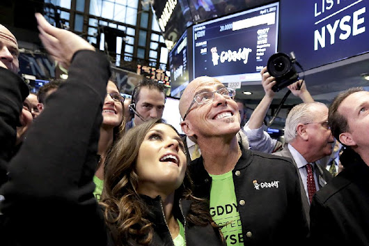 GoDaddy shines with $3B market debut