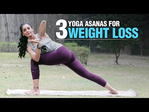3 yoga poses for weight loss fat loss  fit tak