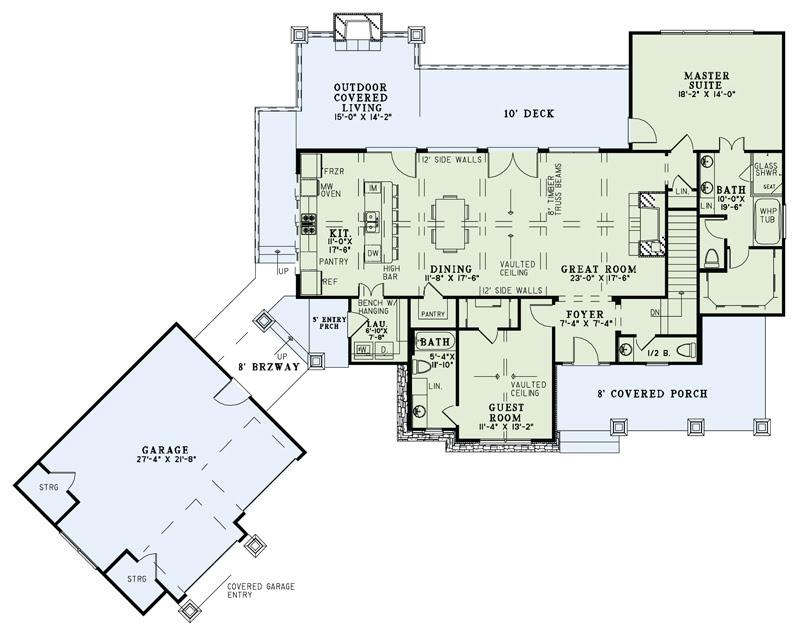 Mountain Plan 3 579 Square Feet 4 Bedrooms 4 5