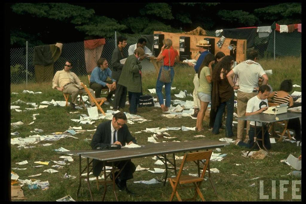 O festival de Woodstock em números e imagens 20