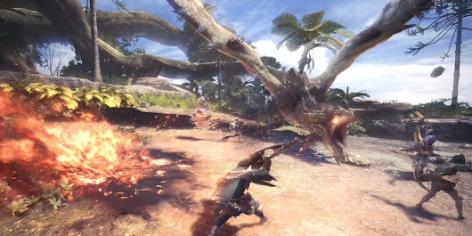 Favorite changes, impressions after playing Monster Hunter World | Technobubble
