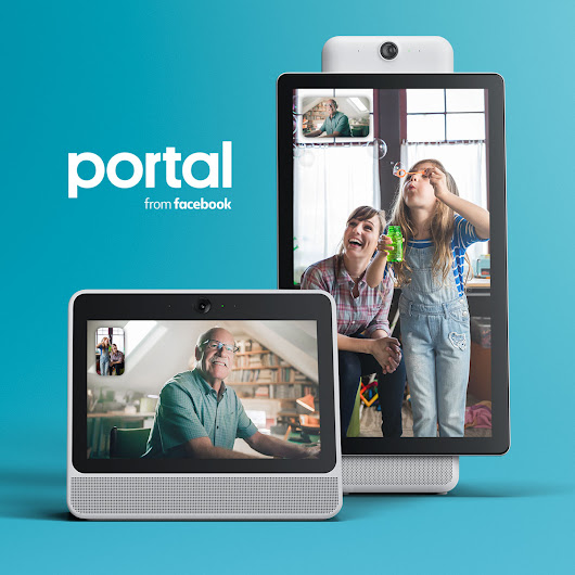 Portal from Facebook: Voice Enabled Hands-Free Video Calling